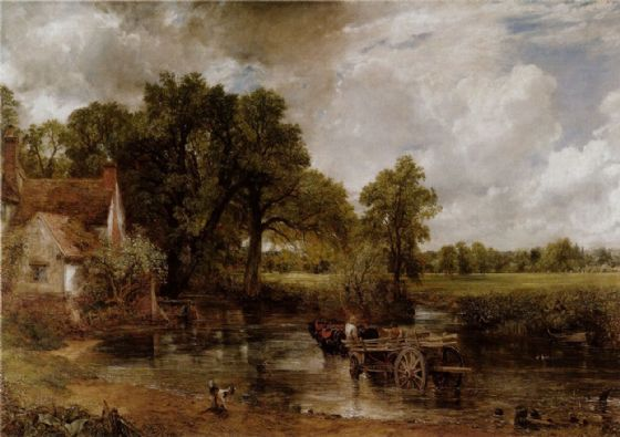Constable, John: The Haywain. Fine Art Print/Poster. Sizes: A4/A3/A2/A1 (0020)